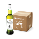 Black & White Scotch Whisky 750ml  x 12