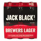 Jack Black Premium Lager Beer 330ml x 6