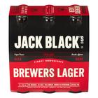 Jack Black Premium Lager Beer 330ml x 6