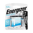 Energizer Maxplus AA  Batteries 4 Pack
