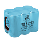 Fitch & Leedes Bitter Lemon 200ml x 6