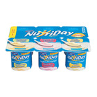 Danone Nutriday Vanilla Strawberry & Raspberry Yoghurt 6s
