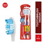 Colgate 360 Optic White Luminous Toothbrush TwinPack