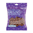 Pnp Choc Coated Raisins 180gr