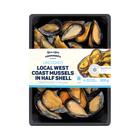 PnP Fishmonger's Half Shell Mussels 500g