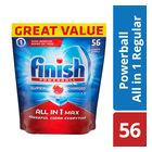 Finish Dishwasher Regular Tablets 56s