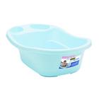 Addis Baby Bath With Plug Blue