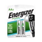 Energizer Recharge Extreme AA Batteries 2s