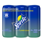 Sprite Soft Drink 300ml Can x 6