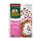 JUNGLE MUESLI NUTS&RAISINS 400GR