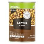 PnP Lentils in Brine 400g