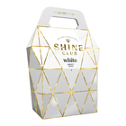 Shine Club Handbag White 3L