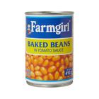 Farmgirl Baked Beans in Tomato Sauce 410g
