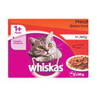 Whiskas Multipack Meat In Jelly 12x85g