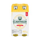 Clausthaler Beer Shandy Lemon Non Alc 330ml x 4