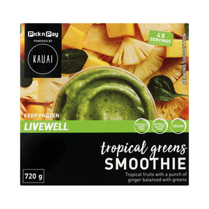 Kauai Smoothie Tropical Green 720g