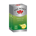 Five Roses Green Tea Lemon And Lime 20ea