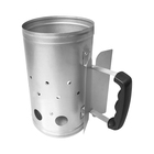 Grill Chef Charcoal Starter Galvanised