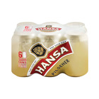 Hansa Pilsener Beer Can 330ml x 6