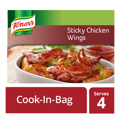 Knorr Cook In Bag Sticky Chicken Wings 35g | each | Unit of Measure