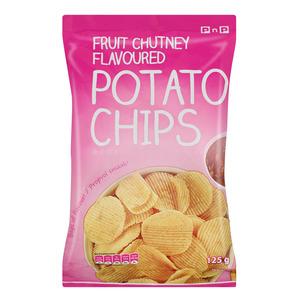PnP Fruit Chutney Chips 125g