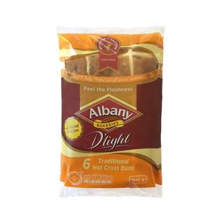 Albany D'light Traditional Hot Cross Buns 300g