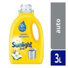Sunlight Liquid Detergent Semi Concentrated Automatic 3l