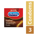 Durex Real Feel 3ea