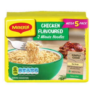 Maggi 2-Minute Noodles Chicken Flavour 73g 5s