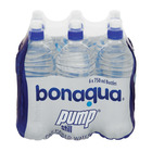 Bonaqua Water Pump 750ml x 6