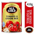 All Gold Tomato & Onion Mix 410g