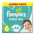 Pampers Baby-Dry Size 6 Jumbo Pack, 44 Nappies