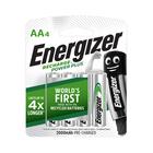 Energizer Recharge Universal AA Batteries 4s