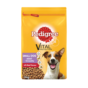 Pedigree Dog Food Beef 4kg