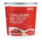 PnP Double Cream Strawberry & Cream Yoghurt 1kg
