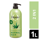 Organics Normal 2in1 Shampoo 1l