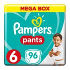 PAMPERS PANTS MEGA BOX SIZE 6 96EA