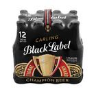 Carling Black Label Bottle 340ml 12ea