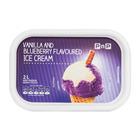 PnP Vanilla Blueberry Flavoured Ice Cream 2l