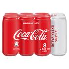 Coca-Cola Regular 300ml 6 + 2 Free