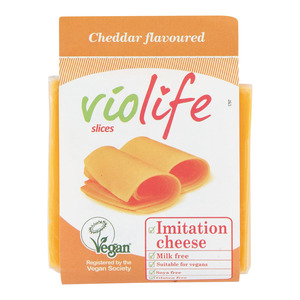 Violife Vegan Cheddar Slices 200g