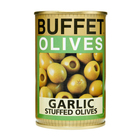Buffet Garlic Filled Olives 300g