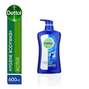 Dettol Body Wash Active 600ml