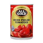 All Gold Chopped Peeled Tomatoes 410g