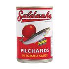 Saldanha Pilchards In Tomato Sauce 400g