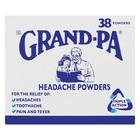 Grand-pa Headache Powders 38s