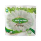 Twinsaver 2 Ply White Luxury Toilet Paper 9s