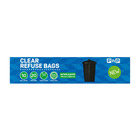 PnP Clear Refuse Bag Interleafed 10ea
