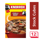Knorrox Chilli Beef Stock Cubes 12s