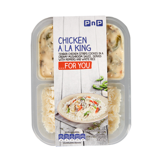 PNP CHICKEN A LA KING&RICE 350GR